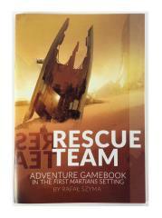 First Martians - Rescue Team Adventure Game Book