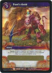 Fool's Gold (Twilight Loot Card) (Foil)