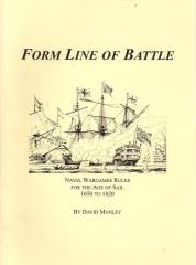 Form Line of Battle - Naval Wargames Rules for the Age of Sail, 1650-1820