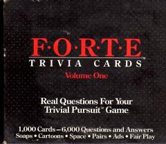 Trivial Pursuit - Forte Expansion #1