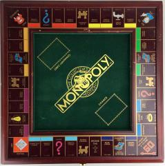 Monopoly (Wooden Collector's Edition) - BOARD ONLY!