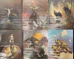 Frank Frazetta Collection - 13 Art Print Posters!