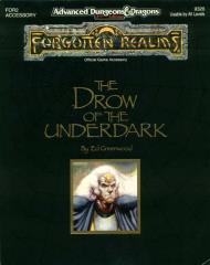 Drow of the Underdark (1st Printing)