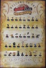 Freakshow Poster Checklist