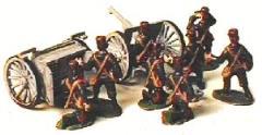 French Gun Crew - 1914 Uniform