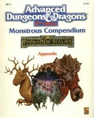 Monstrous Compendium Forgotten Realms Appendix #2