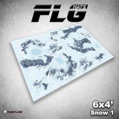 6' x 4' - Snow #1