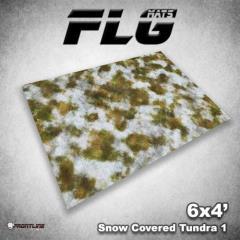 6' x 4' - Snow Covered Tundra #1