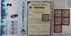 West of Africa - Calendar