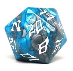 48mm d20 - Frost Giant w/White