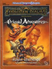 Oriental Adventures - Ronin Challenge