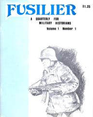 "Vol. 1, #1 ""German Sniper Rifles, British Decorations of Valor, Miniature Figure Painting"""