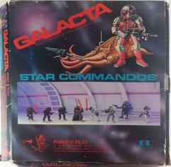 Galactaca 25 - Star Commandos Paint 'n' Play