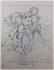 Battletech Unused Concept Art - Galahad