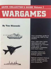 Game Collector's Guide - Volume #1 - Wargames