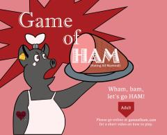 Game of Ham - Adult Set
