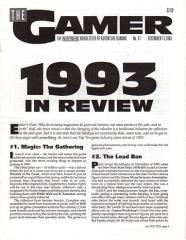 "#17 ""1993 in Review, GURPS Vampire - The Masquerade"""