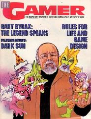 "#2 ""Gary Gygax - The Legend Speaks, Dark Sun, Rules for Life and Game Design"""