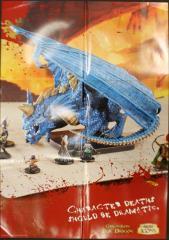 Gargantuan Blue Dragon Promo Poster