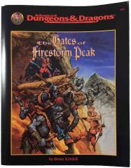 Gates of Firestorm Peak, The (TSR Master Library Copy)