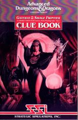 Gateway to the Savage Frontier - Clue Book