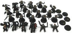 Black Templar Collection #2 - 25 Figures! (Plastic)