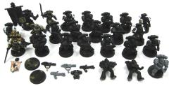 Black Templar Collection #3 - 24 Figures! (Metal & Plastic)