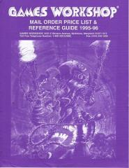 Mail Order Price List & Reference Guide 1995-96