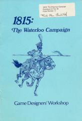1815 - The Waterloo Campaign (1st Edition, Copy #2, Numbered & Signed by Frank Chadwick)