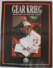 Gear Krieg Advertisement Poster
