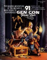 1991 Gen Con On-Site Program