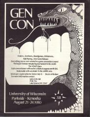 1980 Gen Con Pre-Registration Book