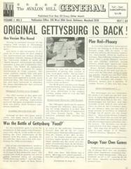 """Vol. 1, #2 """"Gettysburg, Afrika Korps"""""""