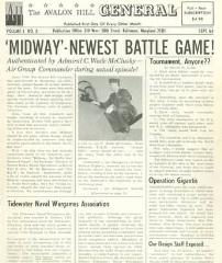 """Vol. 1, #3 """"Midway, U-Boat, D-Day"""""""