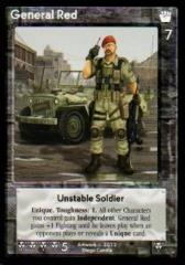 General Red Promo Card