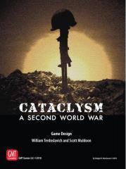 """Cataclysm - A Second World War Mounted Maps + 3"""" Box"""