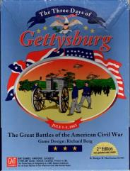 Three Days of Gettysburg, The (Revised Edition, 1st Printing)