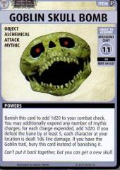Wrath of the Righteous Promo Card - Goblin Skull Bomb