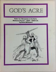 God's Acre - Rules for 1000 A.D. - 1300 A.D.