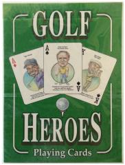Golf Heroes Playing Cards Set
