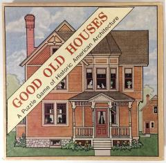 Good Old House - A Puzzle Game of Historic American Architecture