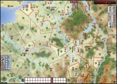 1914 - Germany at War, Gortex Map
