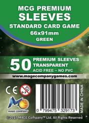 Standard Card Game Sleeves (10 Packs of 50)