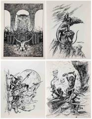 Grant Goleash Sketches Collection - 4 Pieces!