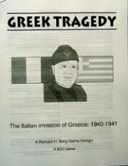 Greek Tragedy - The Italian Invasion of Greece 1940-1941