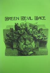 Green Devil Face #2