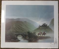 Greeting the Dawn w/Original Artist Sketch (Unmatted)
