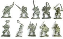 Grenadier Warriors Collection #1 - 10 Figures