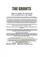Nam Leader Battle Pack 3 - The Grunts, The US Army in Vietnam