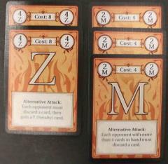 Dexicon - Alternative Attack Cards